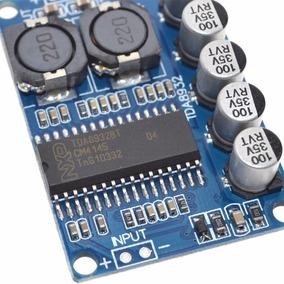 Tda8932-amplificador 30wrms (1canal) Classe D 10-30 Volts