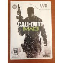 Call Of Duty: Modern Warfare 3 Wii Mídia Física (frete R$10)