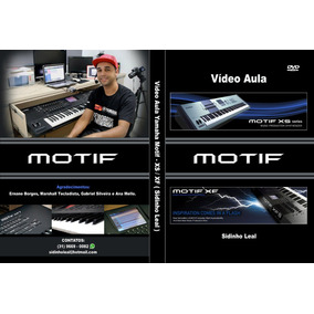 Vídeo Aula Motif Xs/xf - Pack Sounds (retirar Com Vendedor)