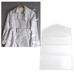 Capa Plástica P/ Roupa 56x120 C/100 Para Vestidos