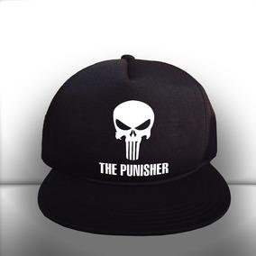 Boné New Era Marvel Snapback The Punisher Importado Novo!! - Bonés ... 473eeb521a3
