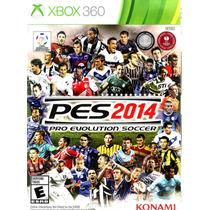 Pes 2014 Midia Fisica Xbox 360 /original /usado