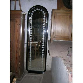 Antiguedad Espejo Biselado Estilo Art Nouveau 1900-1910