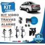 Kit Vidro Elétrico Corsa Classic 2014 4 Portas+alarme+travas