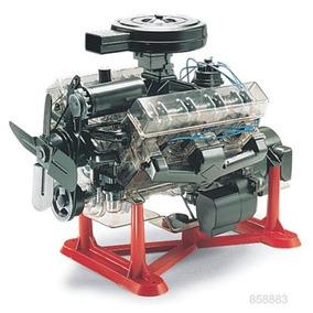 Motor Revell V8 Visible Esc. 1/4 Armar Envío Incluido !