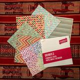 24 Papeles Estampados Doble Faz 15x15 Origami Manualidades