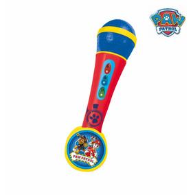 Paw Patrol Microfono Con Luz Y Sonido Educando