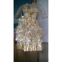 ¡¡hermoso Vestido De La Pelicula De La Bella Y La Bestia!!