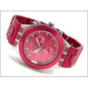 Relógio Swatch Full Blooded Raspberry (pink)