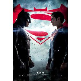 Poster Cartaz Batman Vs Superman: A Origem Da Justiça #b