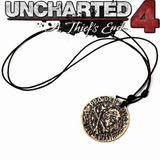 Uncharted Collar Envio Gratis Moneda Pirata Ladron Drake 4