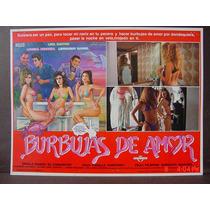 Burbujas De Amor Sexy Chicas En Bikini Cartel De Cine 1991