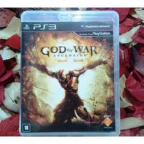 God Of War Ascension - Mídia Física - 100% Português Ps3