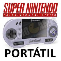 Super Nintendo Portátil ( Supaboy S) Novo À Pronta Entrega!