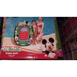 Flotador- Balsa -inflable Bebés S Mickey- 1.02m X 69 Cm