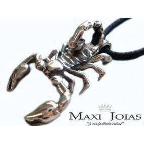 Pingente Escorpião Masculino Prata 950 Fabricação Própria