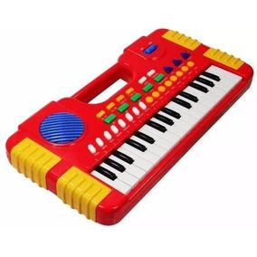 Piano Center Musical Infantil Mini Teclado Sons Eletronico