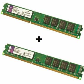 Kit 16gb 2x 8gb Memória Kingston 8gb Ddr3 1333 Mhz Pc10600