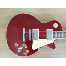 Guitarra Sx Ef3d Les Paul Vinho Trans, Outletmusical 12540 1