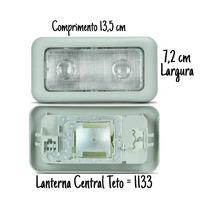 Lanterna Interna Teto Cortesia Uno Vivace Novo Uno. 135x72mm