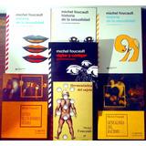 Lote X 7 Libros De Michel Foucault