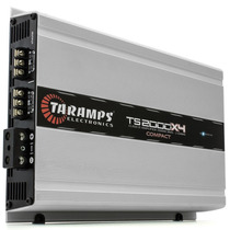 Módulo Amplificador Taramps Ts 2000x4 - 4 Canais - 2000w Rm