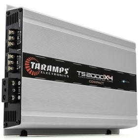 Módulo Amp Taramps Ts 2000x4 - 4 Canais - 2000w Rm