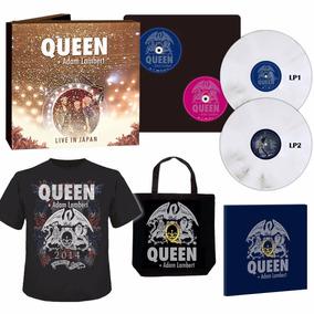 Box Queen Adam Lambert Live In Japan 2014 Limitado Em 1000