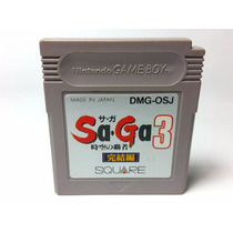 Saga 3 Jikuu No Hasha Gb / Final Fantasy Legend Iii Gameboy