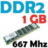 Memoria Ram 1 Gb Ddr2 667 Mhz Pc2-5300 Para Pc Varias