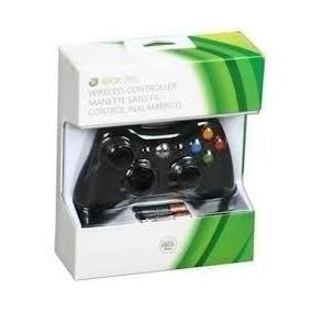 Controle Xbox 360 Wireless 100% Original Microsoft Sem Fio