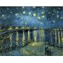 Arte De Wieco - Noche Estrellada Sobre El Rhone De Van Go...