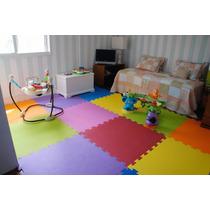 Tapete Eva Kit Quarto Bebe Infantil Criança Juvenil Com 4 M²