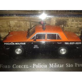 Miniatura Corcel Polícia Militar De Sp Escala 1:43