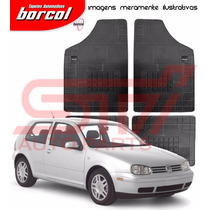 Tapete Borracha Milano B Golf 2000 2001 2002 2003 Borcol 4pç