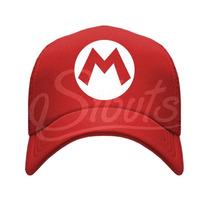 Gorra Tipo Trucker De Malla Super Mario Bros Nintendo