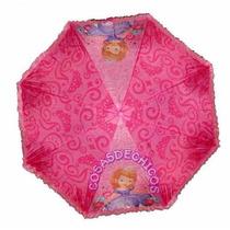 Paraguas Infantil Princesa Sofia Violetta Original Disney