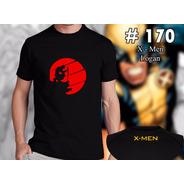 X Men - Logan Remeras Estampadas De Comics