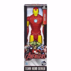 Boneco Avengers Iron Man Figura Titan Hero 30cm Hasbro B1667