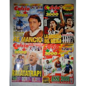 Revista Cálcio 2000 Futebol Lote 17 Unidades 1998/99