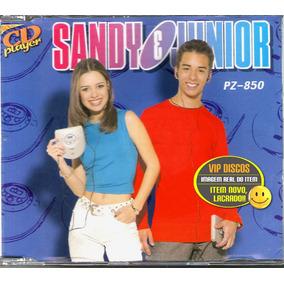 Sandy E Junior Cd Promocional Cd Player Pz-850 Novo Lacrado!