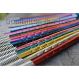 Bombillas De Colores Metalizadas Mate Aluminio