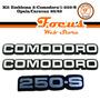 Kit Emblema 2-comodoro/1-250-s (opala/caravan) 1980/1989