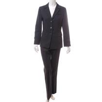Saco Y Pantalón Gris Oscuro Zara Woman
