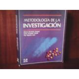 Libro De Metodología De La Investigación