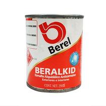 Pintura Esmalte Beralkid Rojo Ladrillo (1/4 Lt) Berel