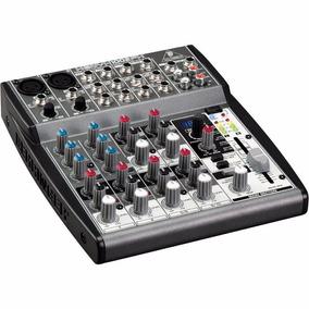 Consola De Audio Behringer Xenyx 1002fx 10 Ch Efectos