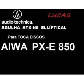Agulha Elíptica! Para Td Aiwa Px-e 850 Audio-technica Atx-n5