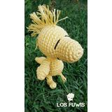 Woodstock Amigurumi Pajarito Snoopy Muñeco Tejido Crochet