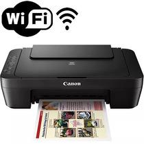 Impressora Multifuncional Wirelles Mg3010 Canon Sem Cartucho